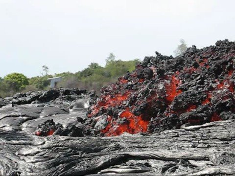 Royal Gardens Lava Flow Oct 14, 2008