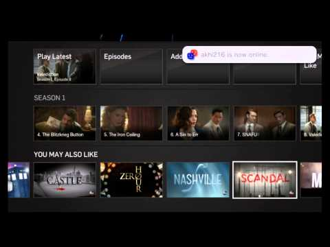 Hulu Plus PS Vita | PlayStation TV Footage