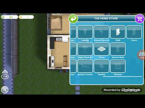 The Sims Freeplay . Add Some Wallpaper