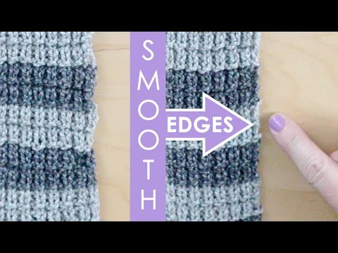 Slip Stitch Edges | Knitting Lessons for Beginners