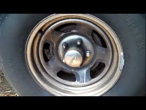 Clean and fix your Chrome rims