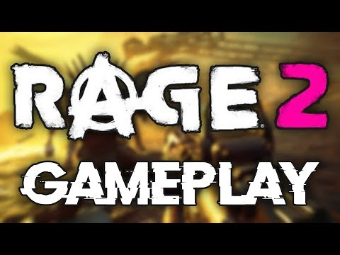 RAGE 2 Gameplay Reveal and First Impressions!!