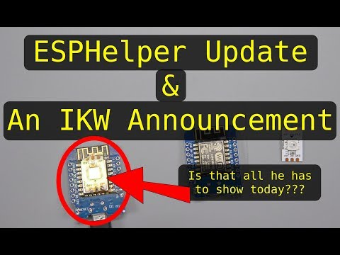 New ESP Mini-Project (Web Config!!!) & Announcement