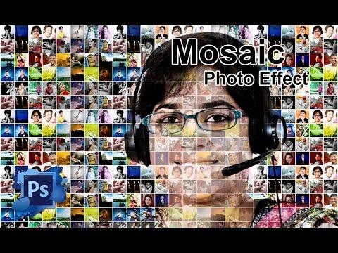 How To Create A Photo Mosaic In Photoshop CS6, CC, CS5, CS3 Easily | Photo Manipulation