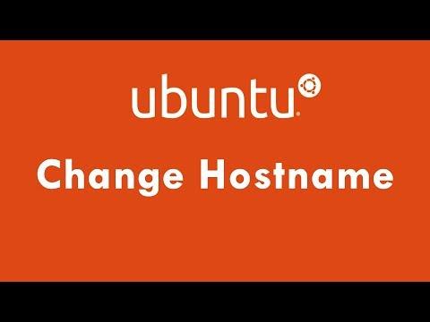 How to Change Hostname Permanently in Ubuntu 18.04