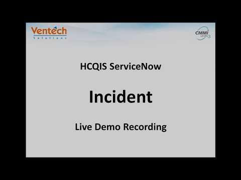 Incident Live Demo Recording WebEx