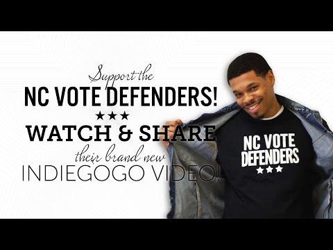 North Carolina Vote Defenders Fight Against Voter Suppression - Indiegogo Campaign