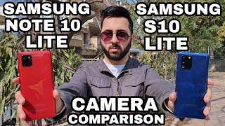 Samsung S10 Lite vs Samsung Note 10 Lite Camera Comparison| Samsung S10 Lite Camera Review
