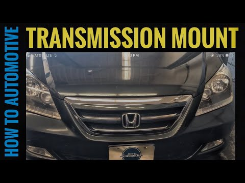 How to Replace the Transmission Mounts on a 2005-2010 Honda Odyssey