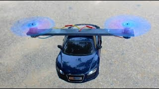 Flying Car - How To Make a Flying Helicopter - flying Helicopter Car