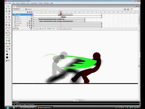 Stick Figure Tutorial 3 : Simple Effects
