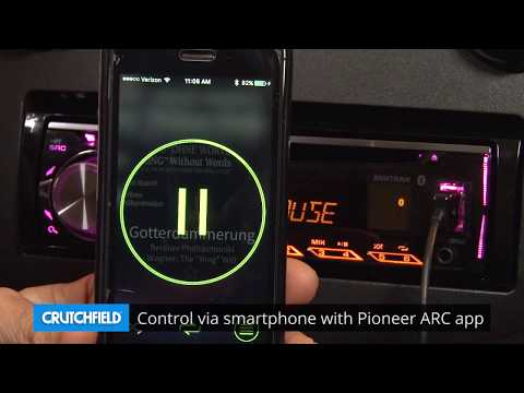 Pioneer DEH-S5000BT Display and Controls Demo | Crutchfield Video