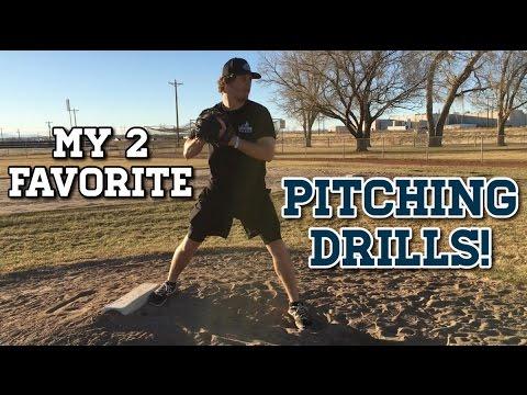 My Two Favorite Baseball PITCHING DRILLS!