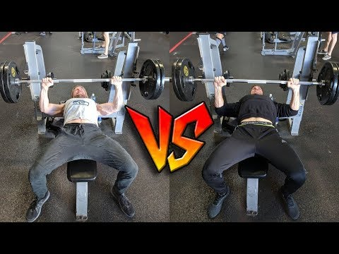 Which Buff Dude is Stronger? (BENCH PRESS CHALLENGE!! + Seattle Seahawks Experience)