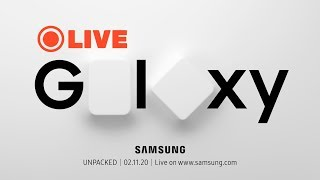 Samsung Galaxy S20 Live Launch Event - UNPACKED 2020 - Live in India