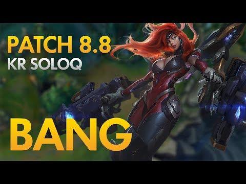 SKT T1 BANG - Miss Fortune Bot Lane