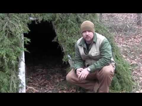 Pimping Your Survival Shelter Part 1 Alpine Debris Bed