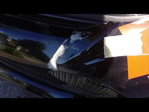 Tape residue removal from car