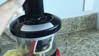 Review  juicer Slowstar tribest 2000