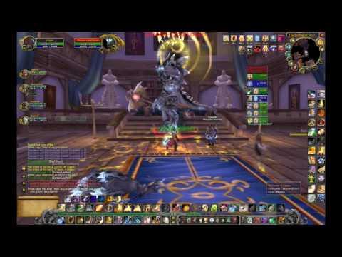 Albino Drake with Hobbs - World of Warcraft