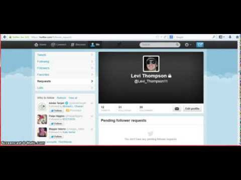How to Make Twitter Profile Private