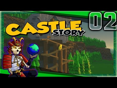 Castle Story Early Access | Building Fortifications | Let's Play Castle Story Gameplay