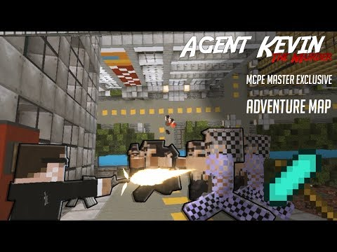 Agent Kevin: The Murder (Minecraft PE Adventure Map) [Exclusive]