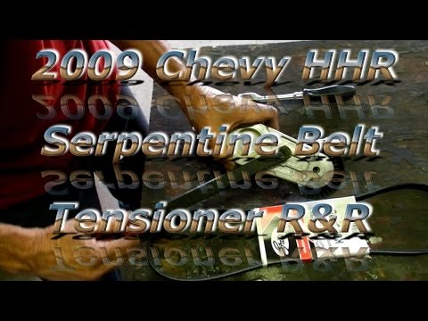 Replacing a Belt Tensioner on a 2009 Chevrolet HHR with Mr Red