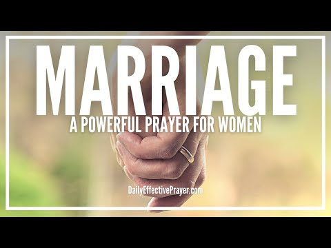 Marriage Prayer For Women - Nothing Is Impossible