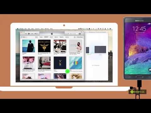 How to Sync Music from iTunes directly to Samsung Galaxy Note 4?