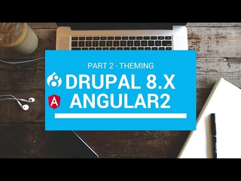 Angular 2 & Drupal 8 Tutorial part 2