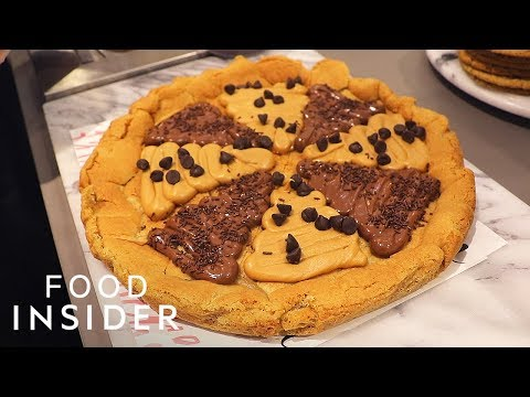 Milk And Cookie Heaven Sells 12-Inch Cookie Pizza