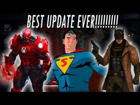 NEW UPDATE 2.2!!! 6 STARS! LEVEL 70! ATROCITUS KNIGHTMARE BATMAN CLASSIC SUPERMAN INJUSTICE 2 MOBILE
