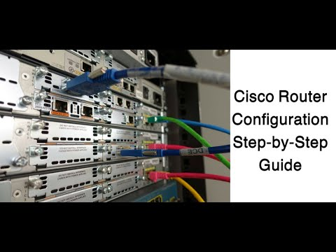 Cisco router  configuration step by step