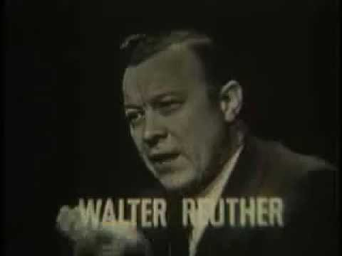 UAW Pres. Walter Reuther on Profit Sharing Plan: 1958-Part 1