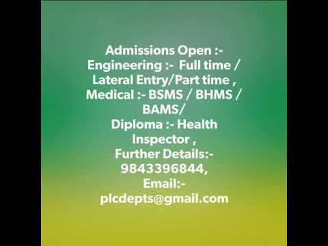 Scope of Diploma in Health inspector | Pharmacy  |  Physical Education  |  Aviation | Tamilnadu