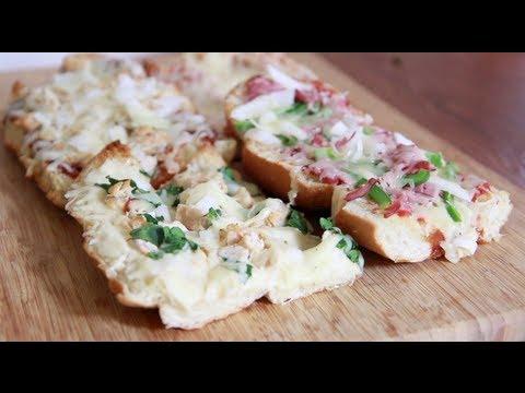 My Fav. French Bread Pizza Recipe (Variety)
