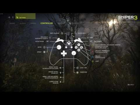 Sniper Ghost Warrior 3 - BETA - PC Settings Panel