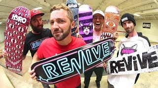 NEW REVIVE SKATEBOARDS PRODUCTS! / Fall 2017