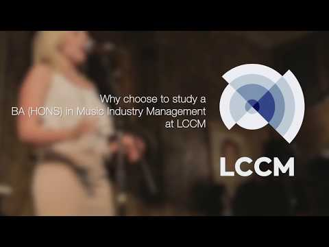 LCCM Music Industry Management - With Course Leader Dave Wibberley