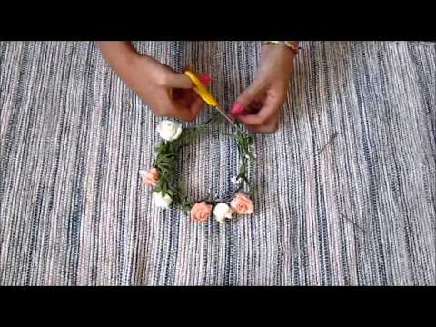 How To Make A Flower Hair Band