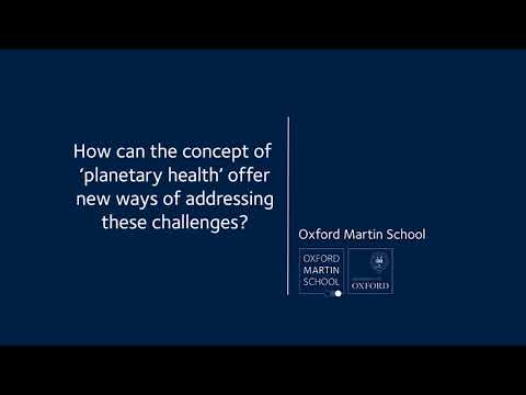 Planetary health: does our planet have boundaries? with Prof Yadvinder Malhi