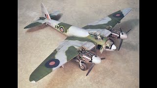 Airfix 1/24 Scale De Havilland Mosquito Post-build Review, Critique And Tips For Building
