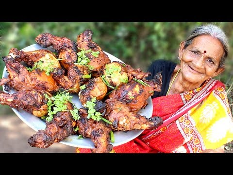 Chicken Lollipop Recipe || Super tasty Chicken Lollipop by Grandma || Myna Tasty Food