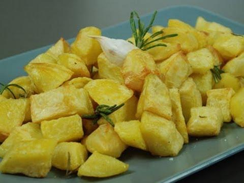 Roasted potatoes - italian recipe
