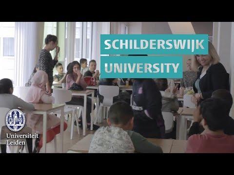 watch Leiden University College welcomes Schilderswijk University
