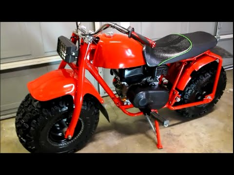 COMPLETE BUILD MONSTER TRAIL BIKE OUT OF 3 WHEELER.