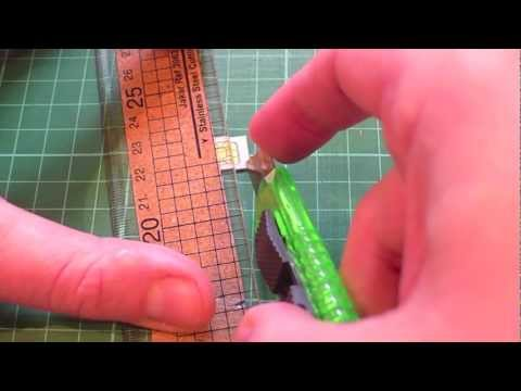 How to make a micro sim from a standard sim card to fit an iPhone