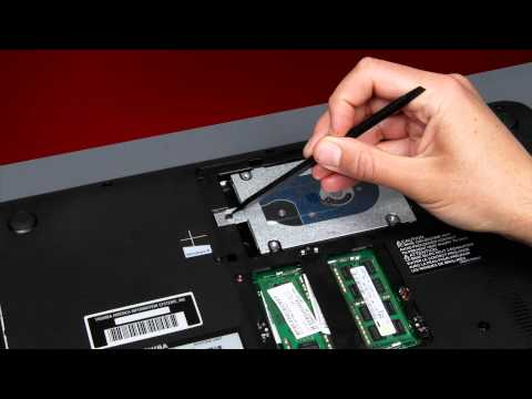 Toshiba How-To: Replacing your Hard Disk Drive on a Toshiba Laptop