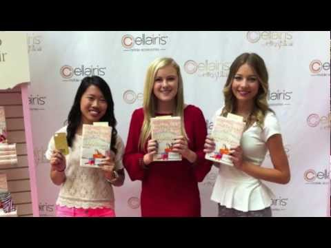 Vlog: Beneath the Glitter (Elle and Blair) Book signing!